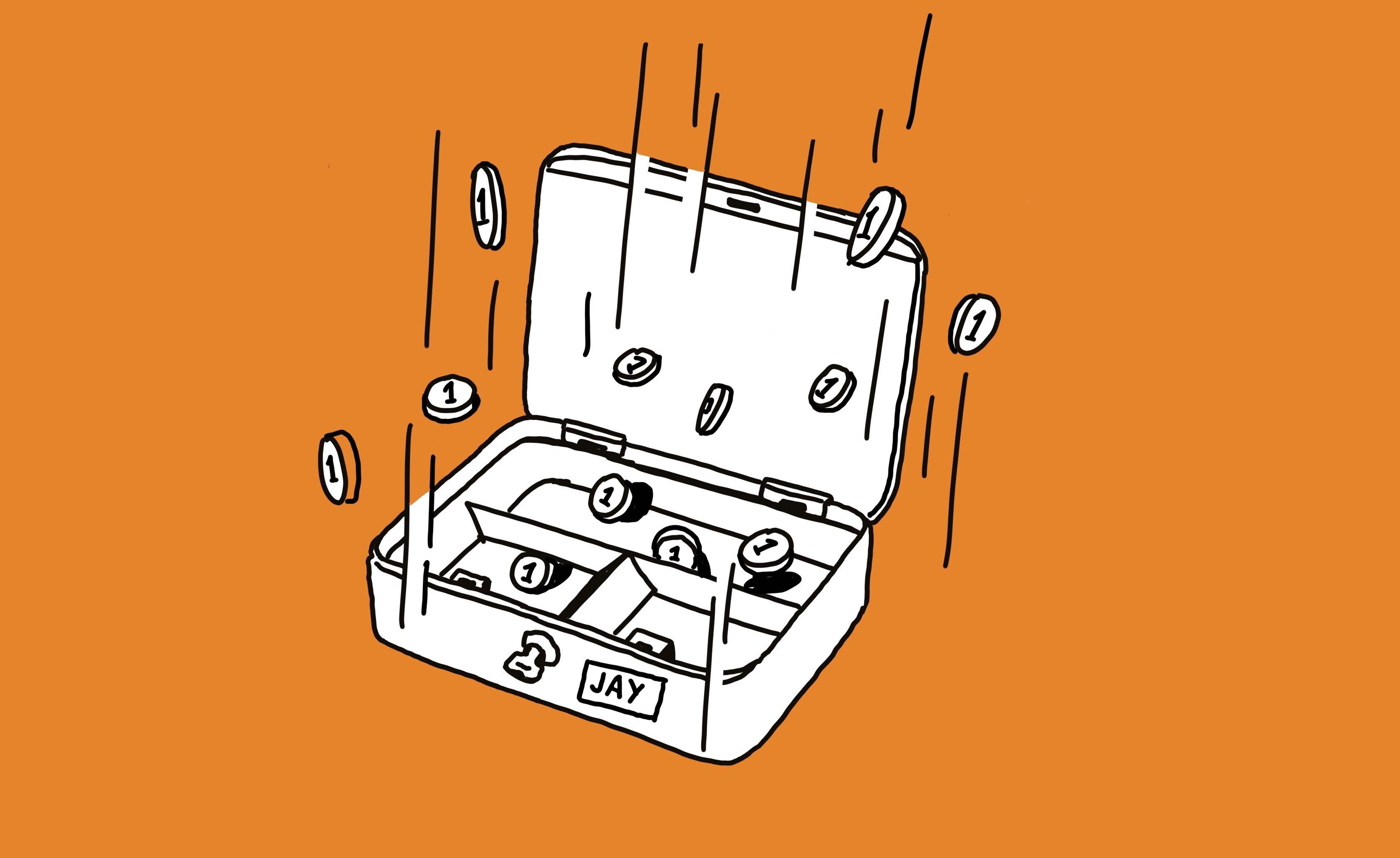Kassensturz – der erste Schritt