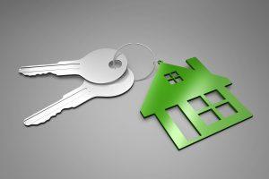 Schlüsselanhänger mit Haus